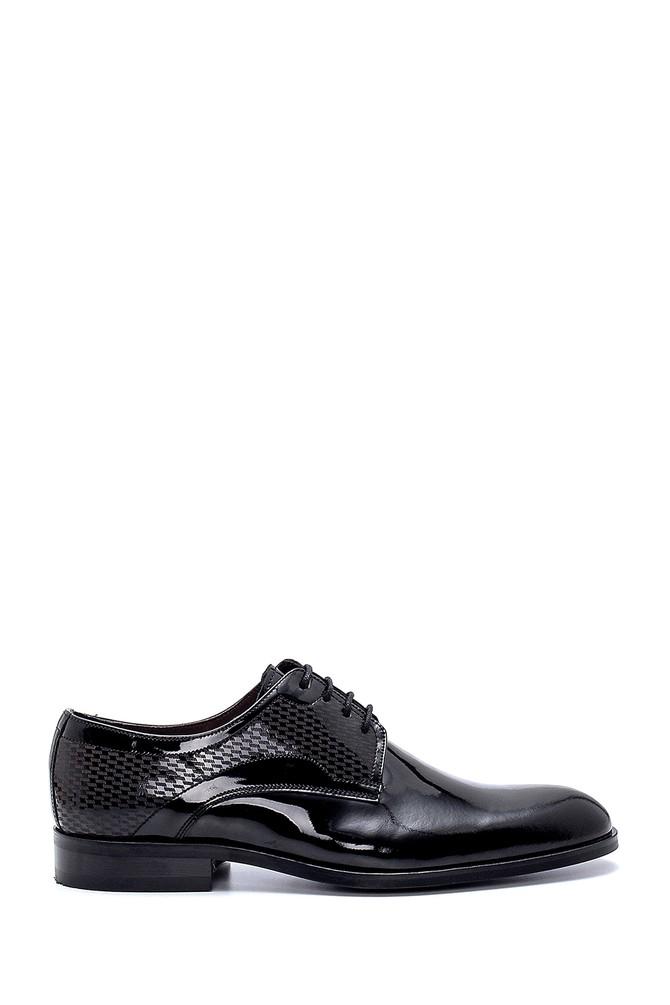 Siyah Erkek Deri Rugan Klasik Ayakkabı 5638250383
