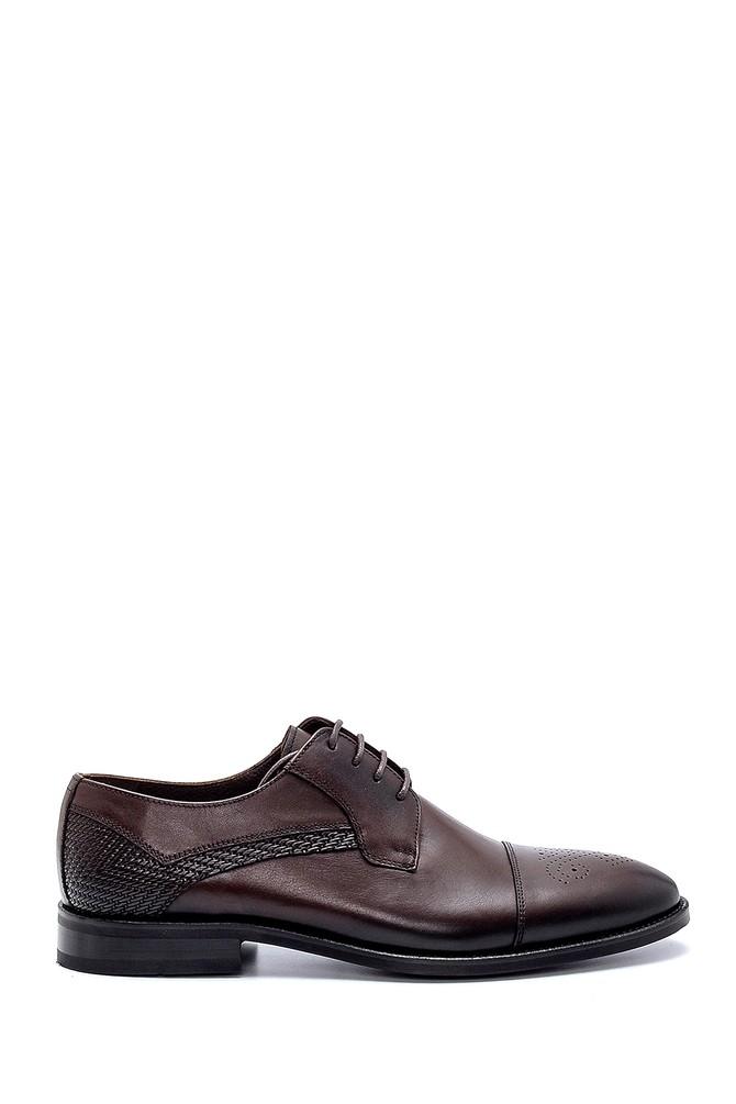 Kahverengi Erkek Deri Klasik Ayakkabı 5638250833