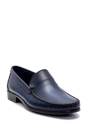 Lacivert Erkek Deri Loafer 5638251171