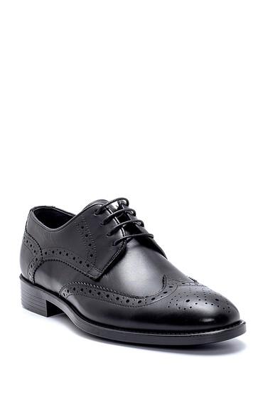 Siyah Erkek Deri Klasik Ayakkabı 5638254217