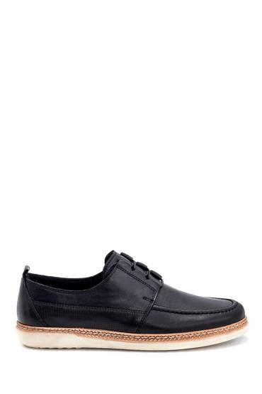 Siyah Erkek Deri Casual Ayakkabı 5638251547
