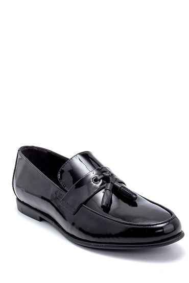 Siyah Erkek Deri Rugan Klasik Loafer 5638251630