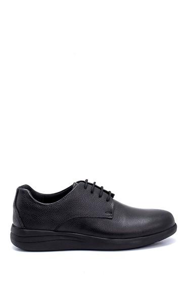 Siyah Erkek Deri Sneaker 5638254774