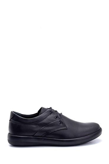 Siyah Erkek Deri Casual Ayakkabı 5638236853