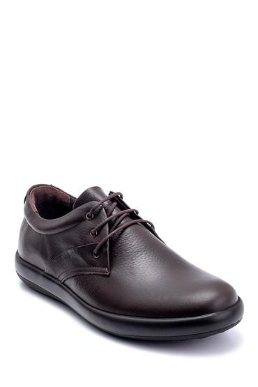 Kahverengi Erkek Deri Casual Ayakkabı 5638236852