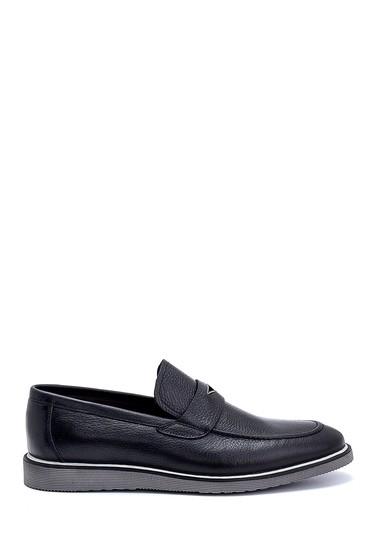 Siyah Erkek Deri Loafer 5638247508