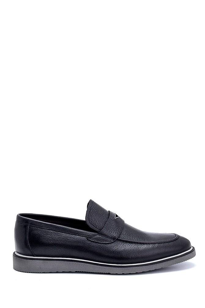 Siyah Erkek Deri Loafer 5638247538