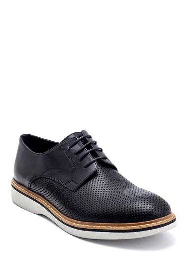 Siyah Erkek Deri Casual Ayakkabı 5638247751