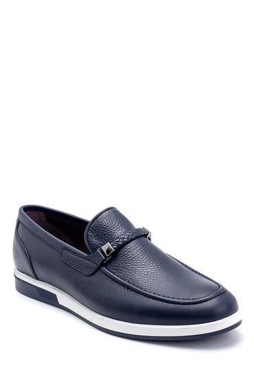 Lacivert Erkek Deri Loafer 5638250081