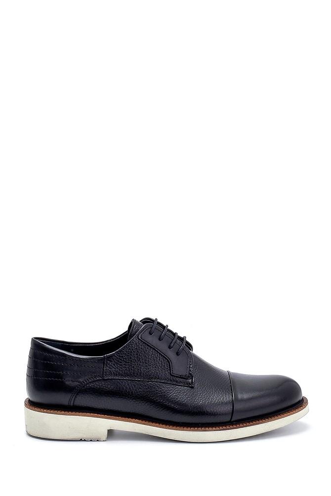 Siyah Erkek Deri Klasik Ayakkabı 5638254139