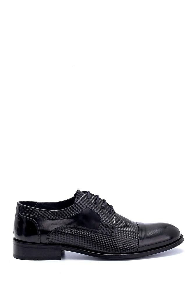 Siyah Erkek Deri Klasik Ayakkabı 5638256993