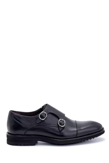 Siyah Erkek Deri Klasik Ayakkabı 5638266895