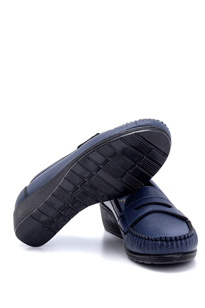 5638280529 Kadın Dolgu Topuklu Loafer