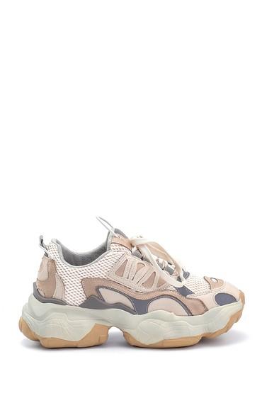 Bej Kadın Sneaker 5638292557
