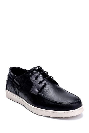 Siyah Erkek Deri Casual Ayakkabı 5638237692