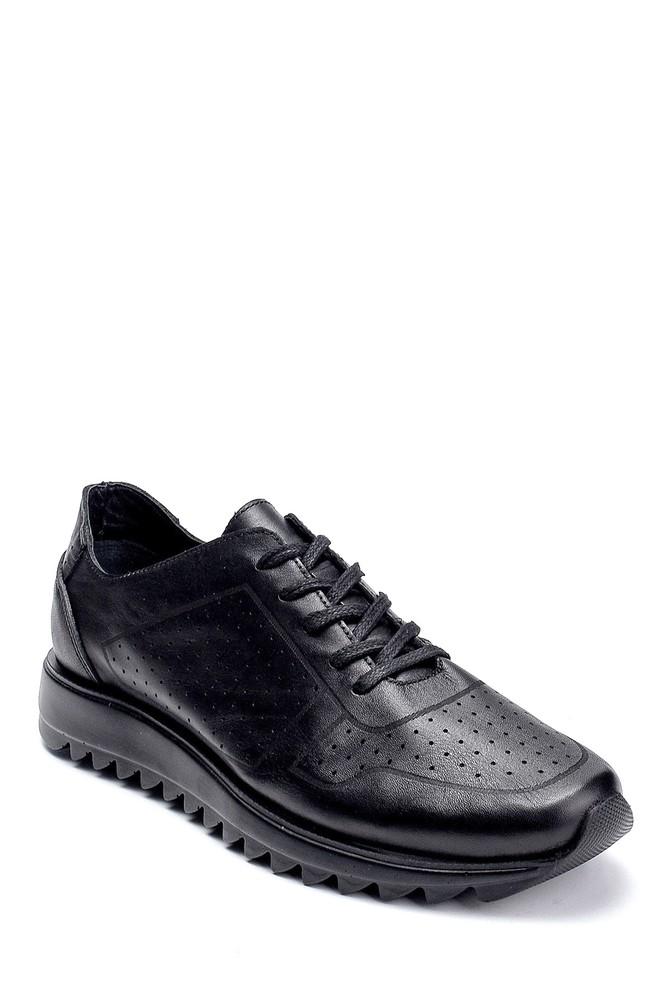 5638237745 Erkek Deri Sneaker