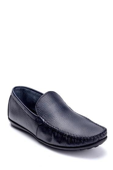 Lacivert Erkek Deri Loafer 5638236773