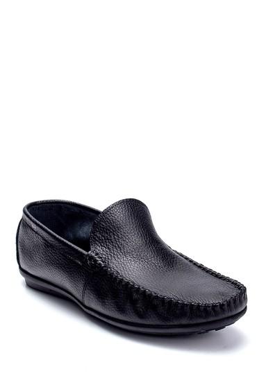 Siyah Erkek Deri Loafer 5638236777
