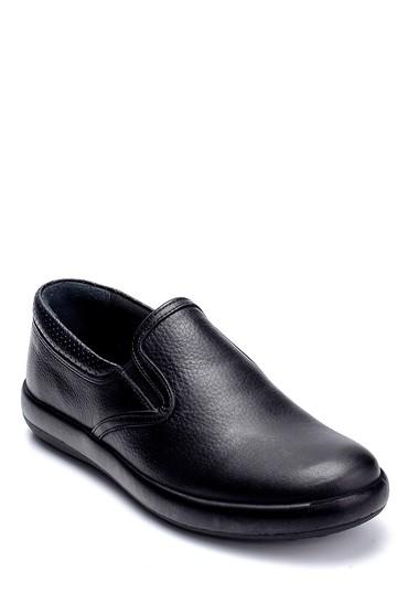 Siyah Erkek Deri Loafer 5638236806