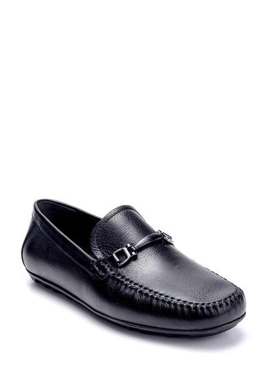 Siyah Erkek Deri Loafer 5638251485