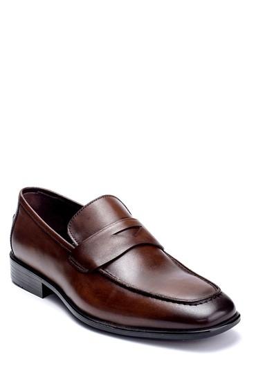 Kahverengi Erkek Deri Klasik Loafer 5638254320