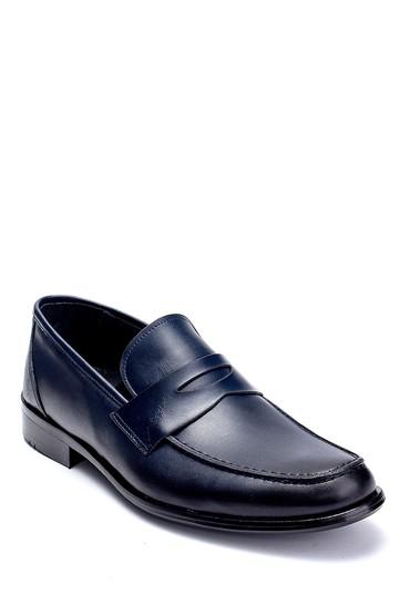 Lacivert Erkek Deri Klasik Loafer 5638257017