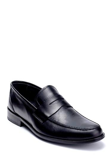Siyah Erkek Deri Klasik Loafer 5638257022