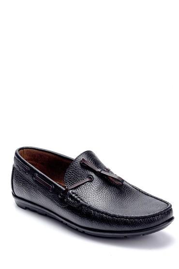 Siyah Erkek Deri Loafer 5638273182