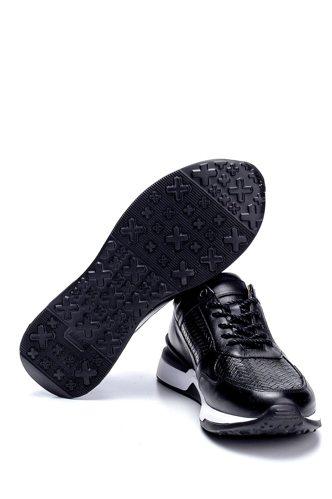 5638275877 Erkek Deri Sneaker
