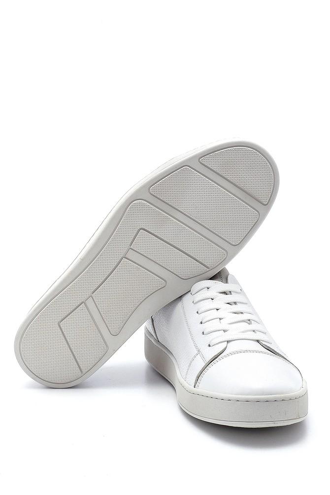 5638245816 Erkek Deri Sneaker