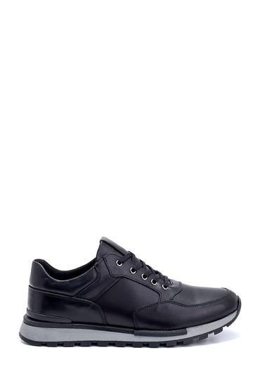 Siyah Erkek Deri Sneaker 5638273150