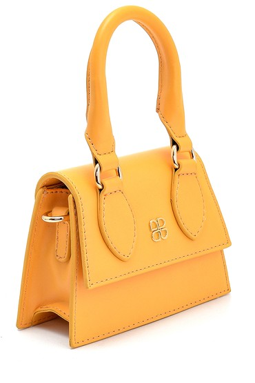 Sarı Kadın Mini El Çantası 5638280026