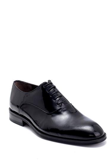 Siyah Erkek Deri Rugan Klasik Ayakkabı 5638247132