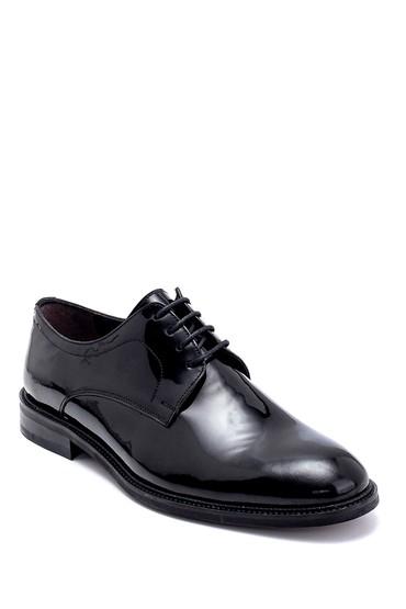 Siyah Erkek Deri Rugan Klasik Ayakkabı 5638247482