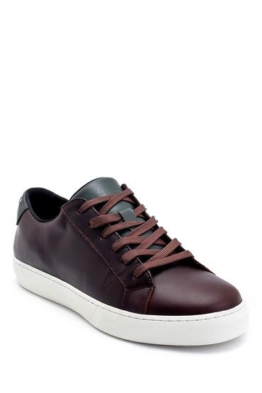 Kahverengi Erkek Deri Sneaker 5638247650