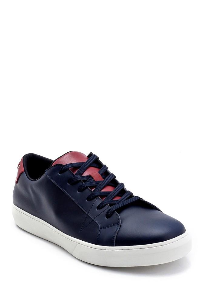 5638247648 Erkek Deri Sneaker