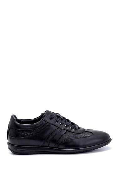 Siyah Erkek Deri Sneaker 5638247682