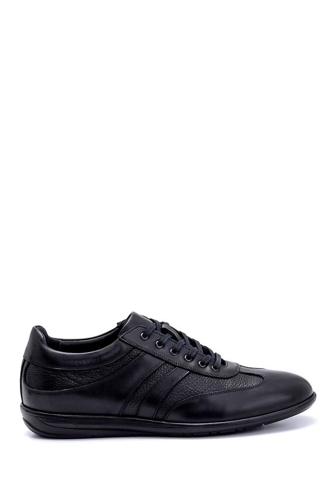 Siyah Erkek Deri Sneaker 5638247702