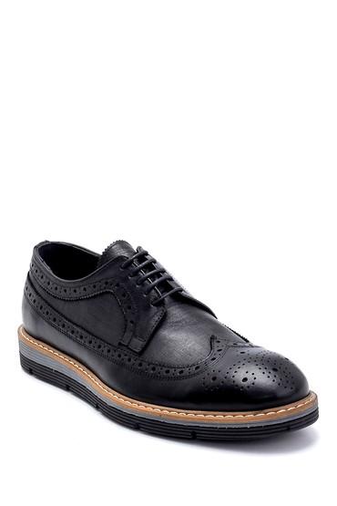 Siyah Erkek Deri Casual Ayakkabı 5638247728