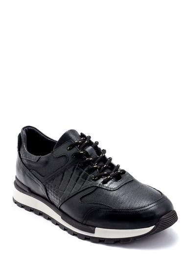 Yeşil Erkek Deri Sneaker 5638247889