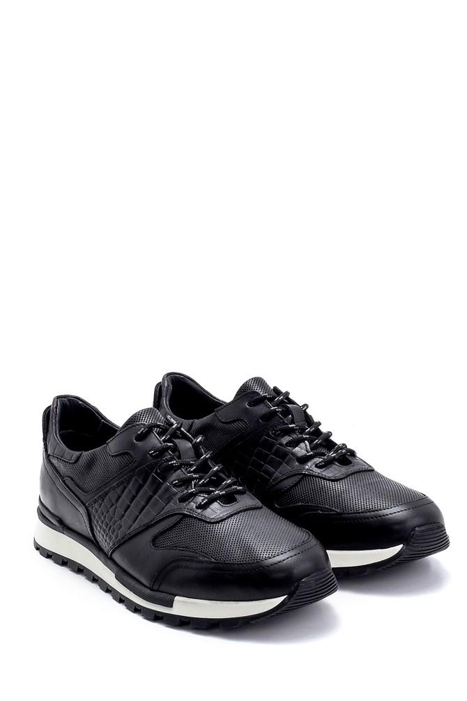 5638247891 Erkek Deri Sneaker