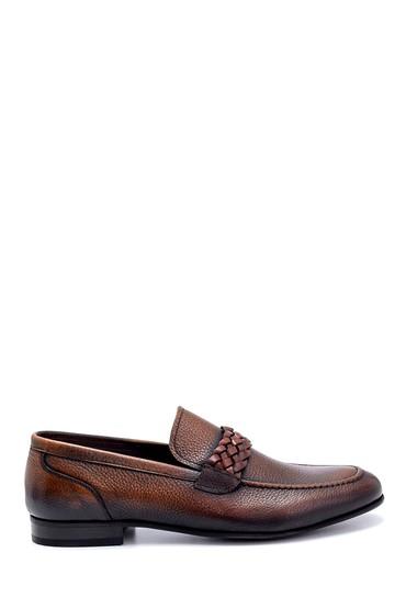Kahverengi Erkek Deri Klasik Loafer 5638249459