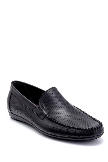 Siyah Erkek Deri Günlük Loafer 5638249712