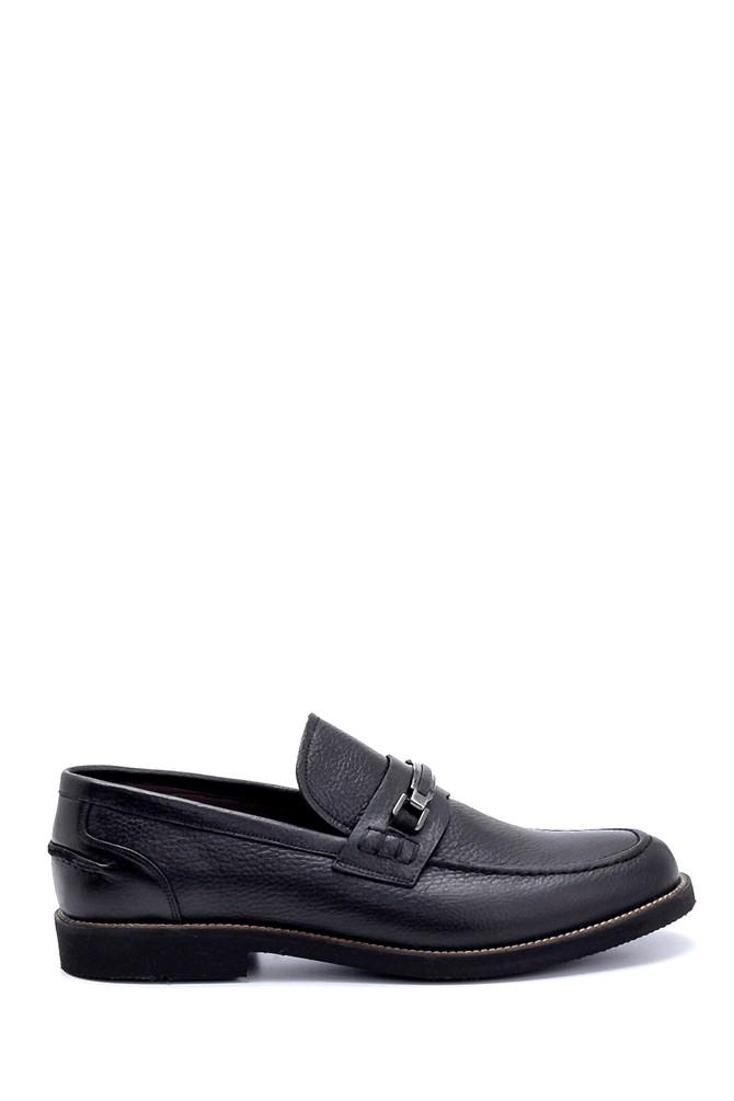 Siyah Erkek Deri Klasik Loafer 5638249924