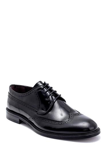 Siyah Erkek Deri Klasik Ayakkabı 5638250221