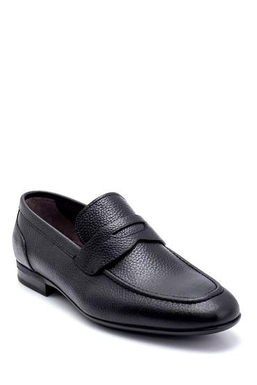 Siyah Erkek Deri Loafer 5638250965