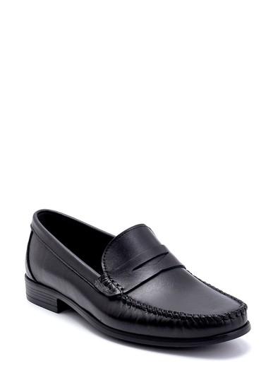 Siyah Erkek Deri Loafer 5638251217