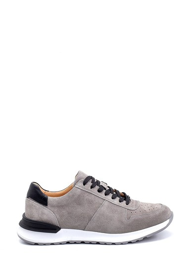 Gri Erkek Süet Sneaker 5638253210