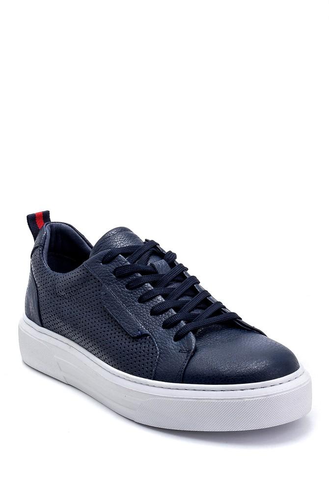 5638254095 Erkek Deri Sneaker