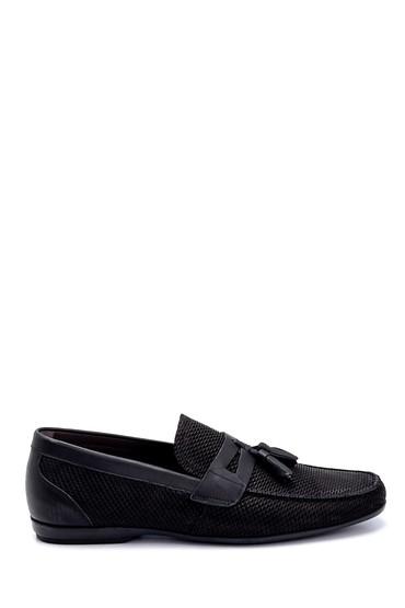 Siyah Erkek Deri Klasik Loafer 5638260341